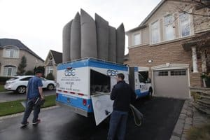Air Duct Cleaning Services Truck Oakville