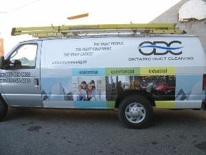 Air Duct Cleaning Services Truck Oshawa