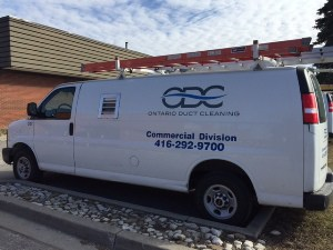 Air Duct Cleaning Services Truck Toronto